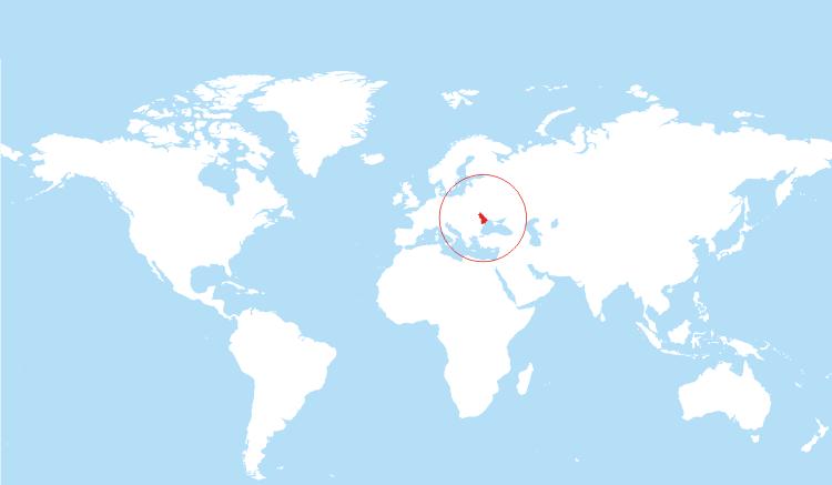moldova-location